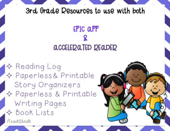 3rd grade Resources for EPIC APP & Accelerated Reader (AR)