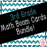 3rd Grade Math Boom Cards Distance Learning Bundle!
