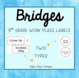 BRIDGES- 3rd Grade- Work Place Labels