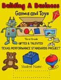 3rd Grade Building A Business TX Performance Standards Pro