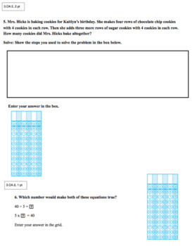 3rd Grade CCSS Assessments (Eureka Modules / Engage NY 1 - 7)