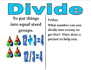 3rd Grade CCSS Daily Math Vocabulary Practice