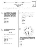 3rd Grade CCSS Measurement (Eureka Module 2 Assessment 3)