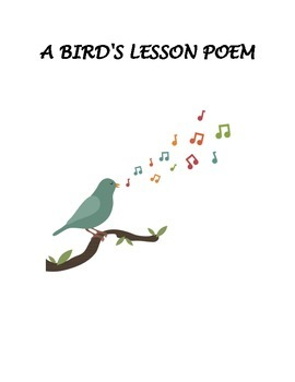3rd Grade CCSS Poem Practice or Assessment RL 3.5