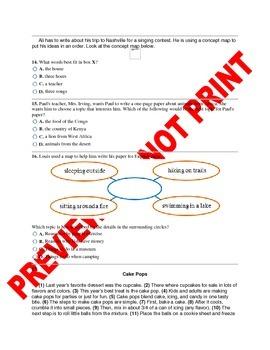 3rd Grade CCSS Writing Assessment