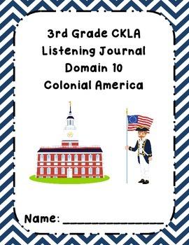 3rd Grade CKLA Domain 10 Listening Journal