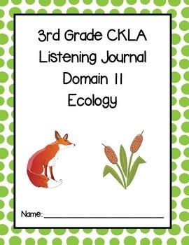 3rd Grade CKLA Domain 11 Listening Journal