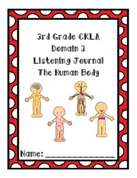 3rd Grade CKLA Domain 3 Listening Journal
