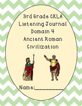 3rd Grade CKLA Domain 4 Listening Journal