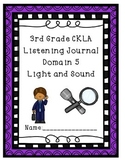 3rd Grade CKLA Domain 5 Listening Journal