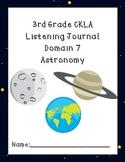 3rd Grade CKLA Domain 7 Listening Journal