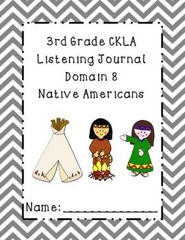 3rd Grade CKLA Domain 8 Listening Journal