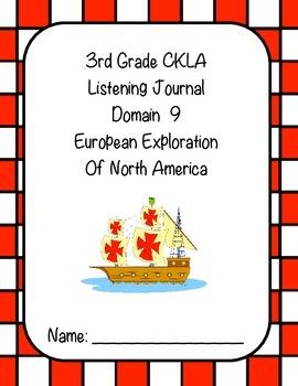 3rd Grade CKLA Domain 9 Listening Journal