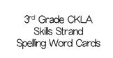 3rd Grade CKLA Skills Strand Spelling Words- COMPLETE SET!!