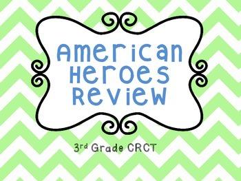3rd Grade CRCT American Heroes Review
