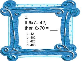 3rd Grade CRCT Math Review