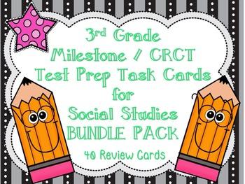 3rd Grade Milestone / CRCT Social Studies Test Prep Task C