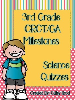 3rd Grade Science GA Milestones Review Test Prep & Year Round Quizzes
