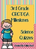 3rd Grade Science GA Milestones Review Test Prep & Year Round Quizzes