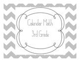 3rd Grade Calendar Math