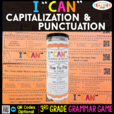 3rd Grade Capitalization and Punctuation Game