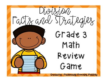 3rd Division Facts and Strategies Math Review