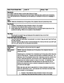 3rd Grade Character Analysis Unit - Book 1: Fourth Grade R