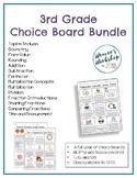 3rd Grade Choice Boards Bundle