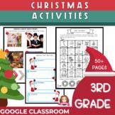 3rd Grade Christmas Activities   Google Classroom   Distan