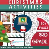 Christmas Activities for 3rd Grade   Print & Digital BUNDL