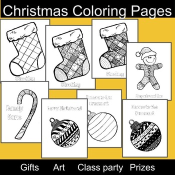 3rd grade christmas christmas bookmarks and coloring pages