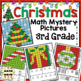 3rd Grade Christmas Math: 3rd Grade Math Mystery Pictures
