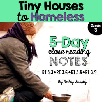 3rd Grade Close Read - Homelessness Articles