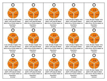 3rd Grade Common Core Aligned Brag Tags: Geometry Freebie