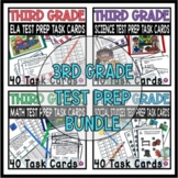 3rd Grade Standards Based Test Prep Tasks Common Core Aligned Bundle