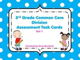 3rd Grade Common Core Aligned Division Task Cards