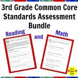 3rd Grade Common Core Assessment Bundle