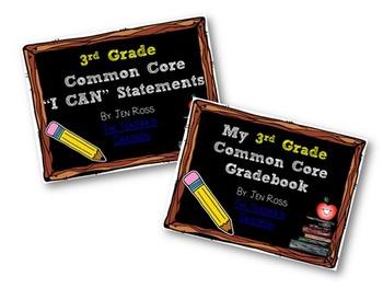 3rd Grade Common Core BUNDLE