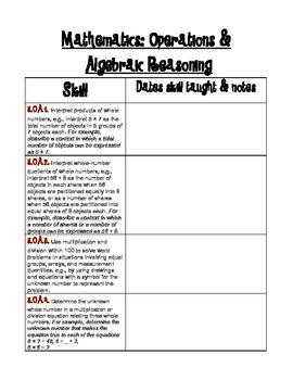 3rd Grade Common Core BUNDLE {Reading & Language Arts; Mathematics}