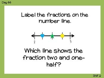 3rd Grade Problem of the Day -Common Core {Paperless}