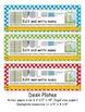 3rd Grade Common Core Desk Plates: Dots: Editable