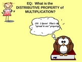 3rd Grade Common Core Distributive Property of Multiplication