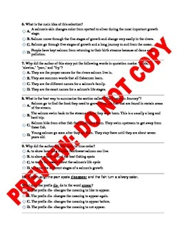 3rd Grade Common Core ELA Benchmark Assessment