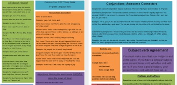 3rd Grade Common Core ELA Study Guide