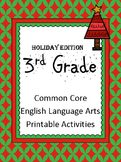 3rd Grade Holiday Activities