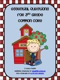 3rd Grade Common Core Essential Questions