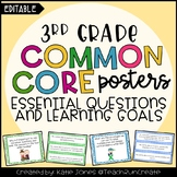 3rd Grade EDITABLE Essential Questions & Learning Goals