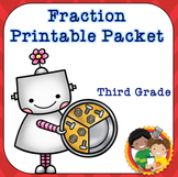 Fractions Printable Pack