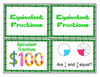 3rd Grade Common Core Fraction Review Game
