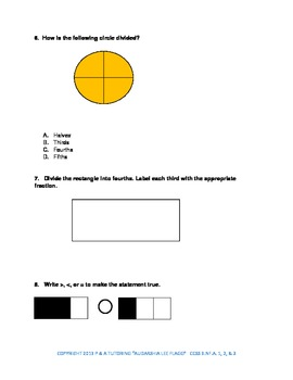 3rd Grade Common Core Fractions